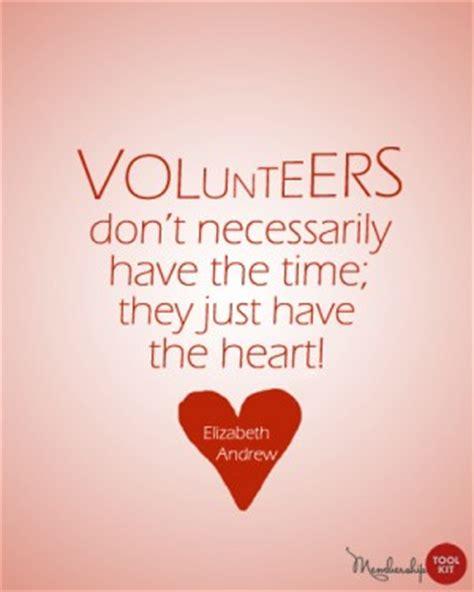 volunteer appreciation themes  quotes quotesgram