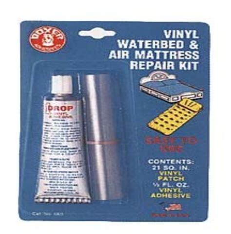 air bed repair kit vinyl waterbed air mattress repair kit