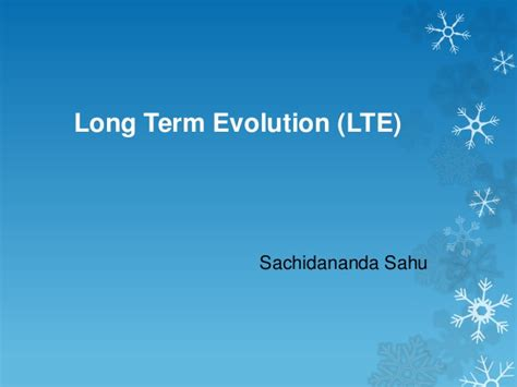 lte tutorial powerpoint lte introduction hello world to lte
