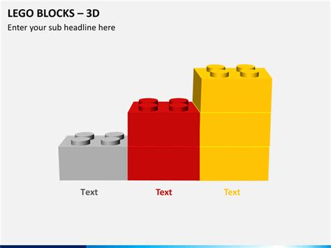 Powerpoint Lego Blocks Diagram Sketchbubble Lego Powerpoint Template