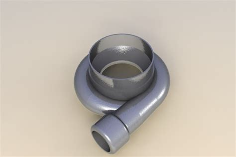 tutorial turbo solidworks turbo housing stl step iges solidworks 3d cad
