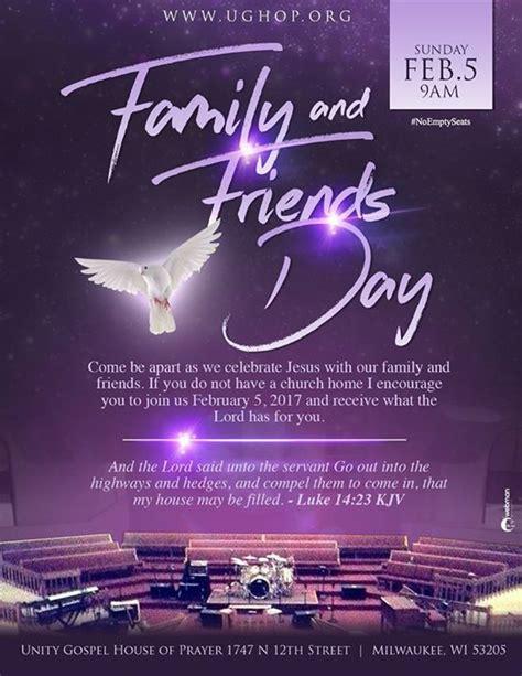 unity gospel house of prayer family and friends day unity gospel house of prayer