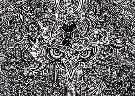 pattern design drawing the psychedelic art of lutamesta 171 art installations