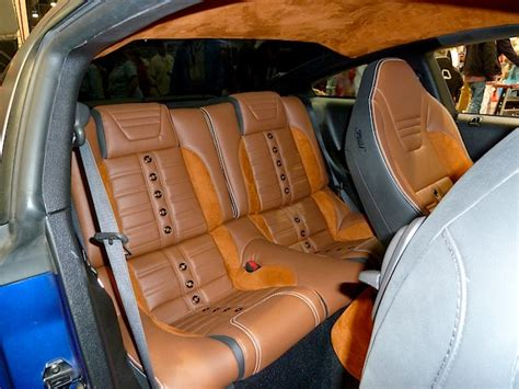 auto interiors and upholstery interior restoration takes stage at sema 2013