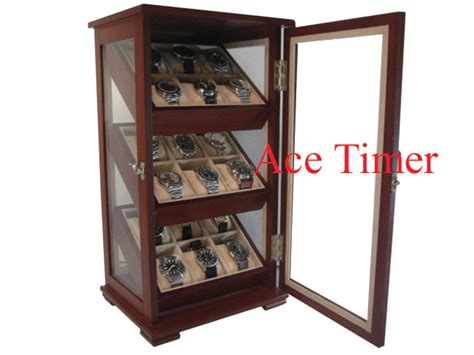 Display Cases For Sale In Orange County 18 Watch Sapelli 360 Degree Display Storage Case Box For