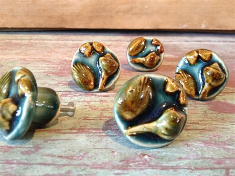 Shell Drawer Pulls by Shell Cabinet Knob Scallop Conch Ceramic Drawer Pull