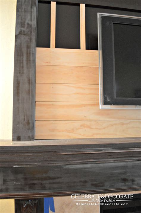 How To Shiplap Shiplap Fireplace