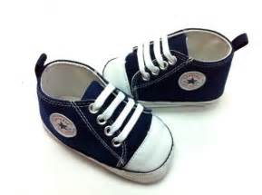 Crib Shoes For Baby Boy Details About New Converse Soft Sole Baby Boy Polka Dot High Top Crib Shoes Age 3 18 Mth