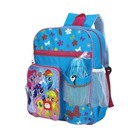 Tas Sekolah Anak Perempuan Catenzo Junior 3 jual catenzo jr cai023 rainbow pony tas sekolah anak
