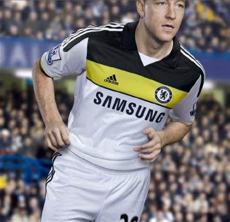 Kaos Chelsea New Cfc 12 new chelsea third kit 11 12 cfc shirt 2011 2012 white