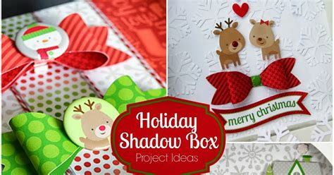 doodlebug home for the holidays doodlebug design inc shadow boxes home for the holidays