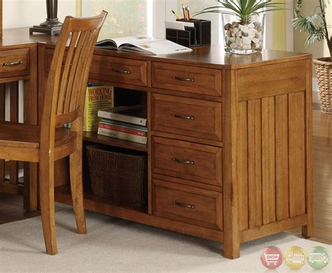 hton bay warm oak finish l shaped home office desk