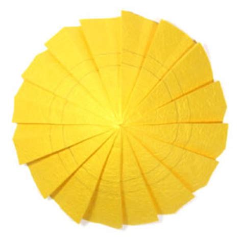 Origami Sunflower Step By Step - how to make an origami sunflower page 5