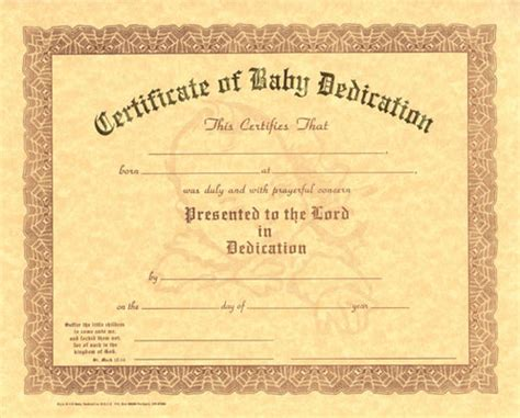 baby christening certificate template pin free baby dedication certificate templates this is