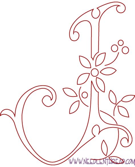 monogramma lettere monogram for embroidery letters i and j