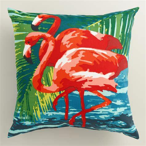flamingo outdoor throw pillow world market