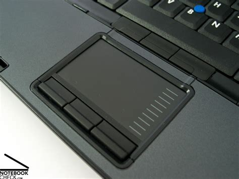 Touchpad Notebook recenzja hp compaq nc8430 notebookcheck pl