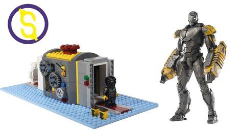 Minifigure Iron Lego Model custom lego iron mk 25 strike minifigure review