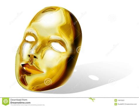 Pibamy Gold Mask Pibamy Time Gold Mask golden mask stock image image 15810501