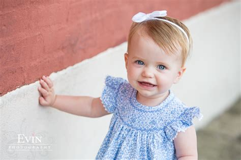 1 year baby s 1 year portraits downtown franklin tn 187 evin