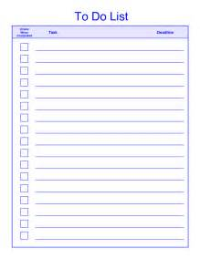 Template To Do List Doc 460617 Things To Do List Template 378 Best Images