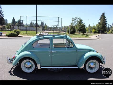 4 Door Volkswagen Beetle For Sale by 1963 Volkswagen Beetle Classic Ragtop 4 Speed Manual 2