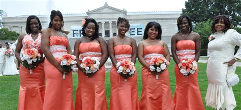 persimmon color dress persimmon bridesmaid dresses