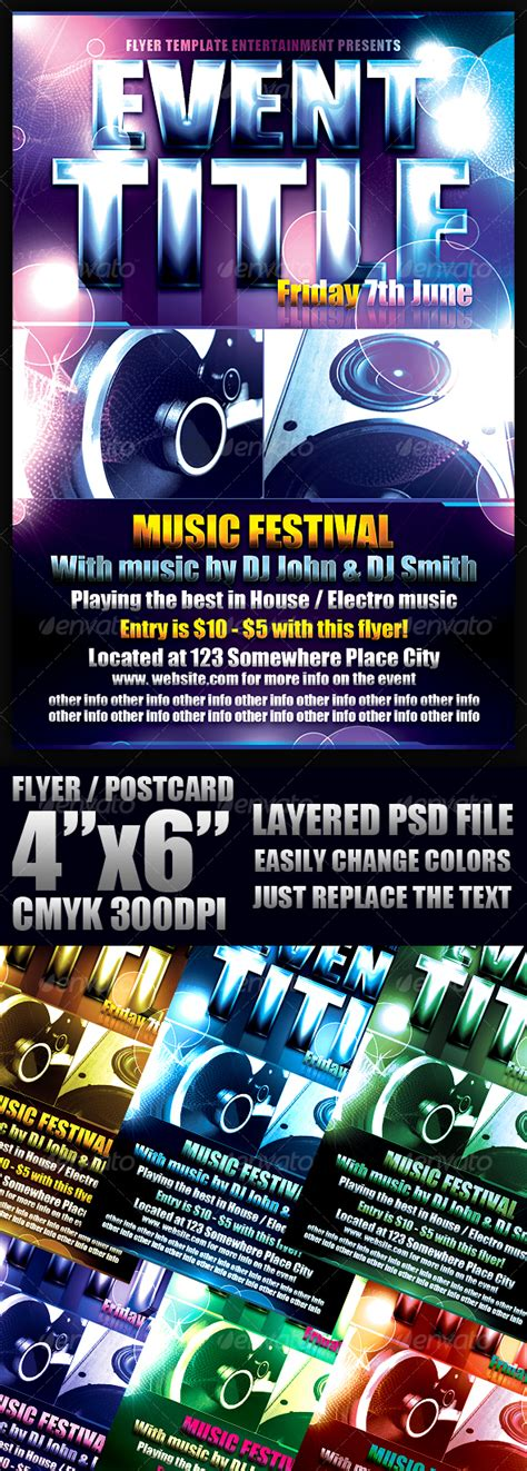 cool flyer templates free cool event template club fliers