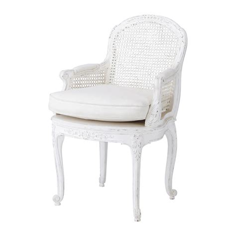 linen armchair in white segur maisons du monde