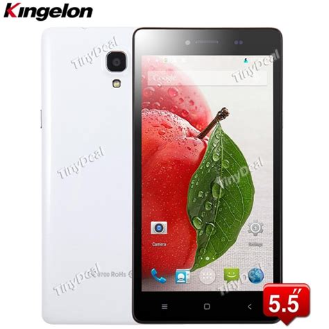 Fdt Silicon Asus Zenfone 2 Screen 55 Buy 1 Get 1 Free kingelon a968 5 5 ips mtk6582 android 4 4 2 3g