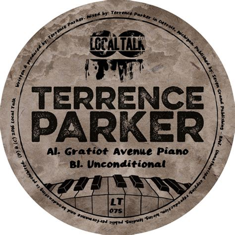 latest local house music terrence parker gratiot avenue piano unconditional serendeepity