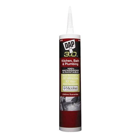 Plumbing Adhesives And Sealants by Dap Dynaflex 230 10 1 Oz Premium Indoor Outdoor Sealant