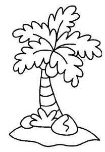 palm tree coloring page palm tree coloring pages coloringpagesabc