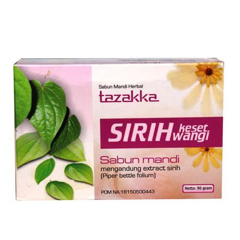 Sabun Herbal sabun sirih keset wangi tazakka sentra herbal
