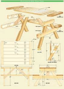 the 25 best ideas about picnic table plans on