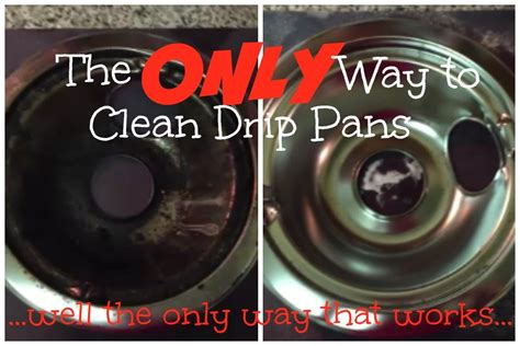 what can i use to clean grease off kitchen cabinets the best way to clean drip pans youtube