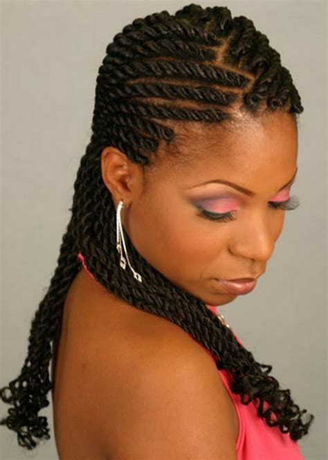 hairstyle with 2 shoulder braids awesome ghana braids gallery most styles of for different