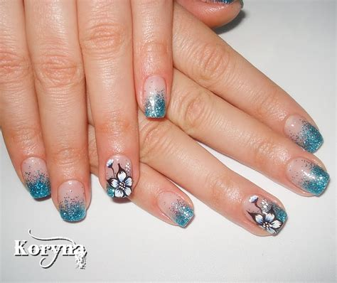 Uv Nails by Nails Glitter Uv Gel Nails