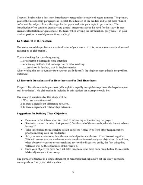 chapter layout research proposal detailed outline of research proposal