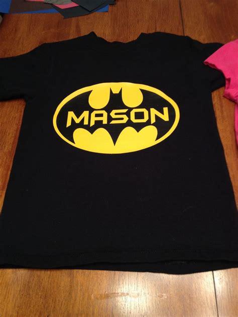 vinyl shirts heat transfer vinyl batman shirt cricut