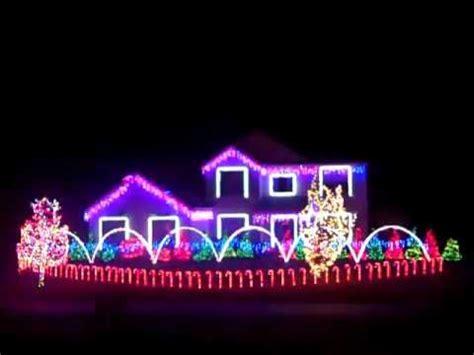 dubstep christmas lights 2012 skrillex bangarang youtube