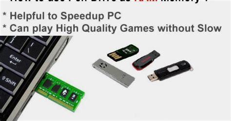 use usb drive as ram how to use usb flash drive as ram memory xvton1081