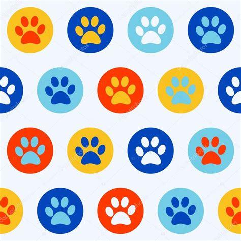 patr 243 n de los iconos de medicina vector de stock 169 omw pegadas perros pegadas de cachorro vetor de stock 169