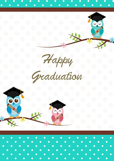 charming printable graduation cards kittybabylovecom
