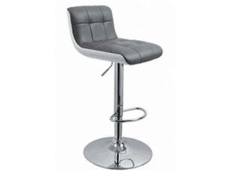 Tabouret de bar WHARF coloris gris   Vente de Chaise de