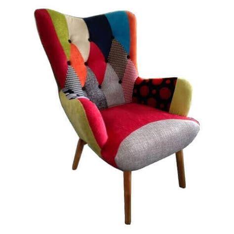 java chair patchwork color armchair scandinavian style