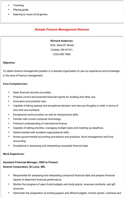 mba finance fresher resume word format mba finance fresher resume word format free