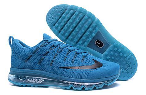 Nike Air Max Flyknit 2016 Bnib s nike max 2016 flyknit blue shoes