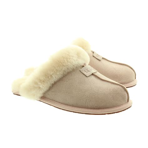 slippers for ugg scuffette ii snake slippers in pink in pink