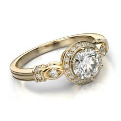 womens vintage wedding rings vintage engagement rings for beautiful